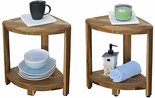 EcoDecors Oasis Shower Stool