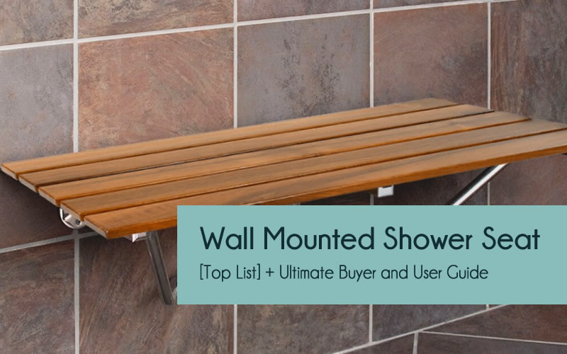 Wall mounted shower seats