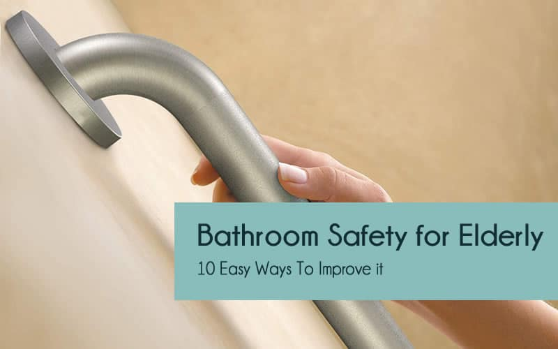 Bathroom safety tips for elderly